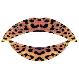 Lip Tattoo Леопардовый