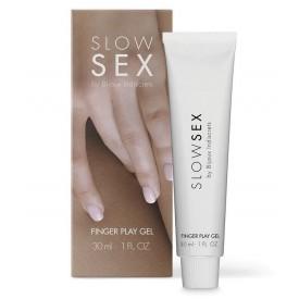 Гель для мастурбации с ароматом кокоса Slow Sex Finger Play Gel - 30 мл.